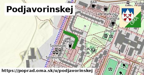 ilustrácia k Podjavorinskej, Poprad - 150m