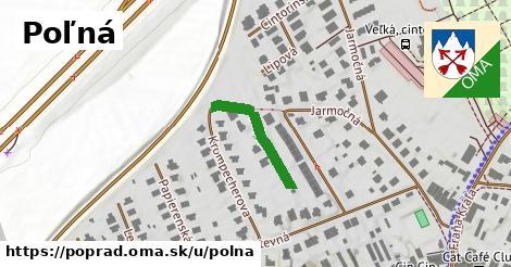 ilustrácia k Poľná, Poprad - 186m