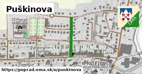 ilustrácia k Puškinova, Poprad - 203m