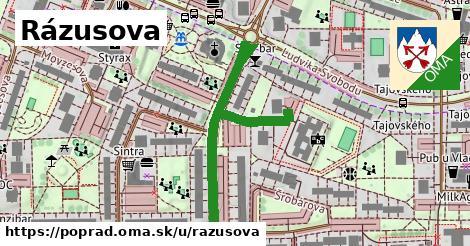 ilustrácia k Rázusova, Poprad - 466m