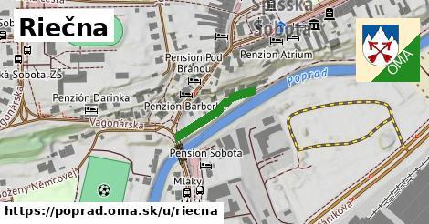 ilustrácia k Riečna, Poprad - 158m