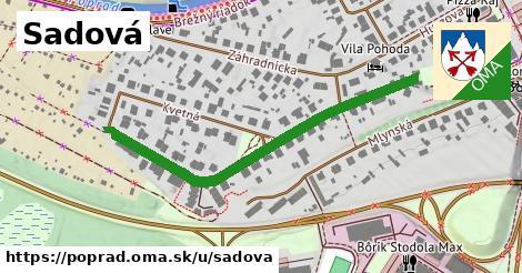 ilustrácia k Sadová, Poprad - 496m