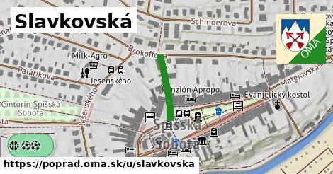 ilustrácia k Slavkovská, Poprad - 146m