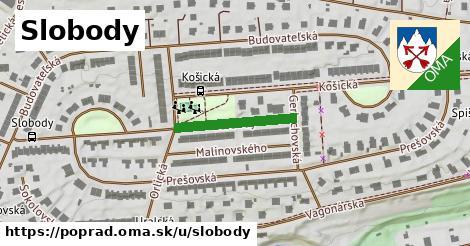 ilustrácia k Slobody, Poprad - 194m