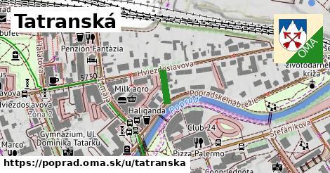 ilustrácia k Tatranská, Poprad - 178m