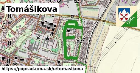 ilustrácia k Tomášikova, Poprad - 0,94km
