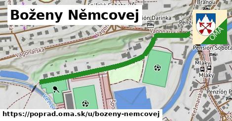 ilustrácia k Boženy Němcovej, Poprad - 524m