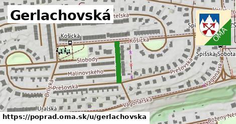 ilustrácia k Gerlachovská, Poprad - 128m