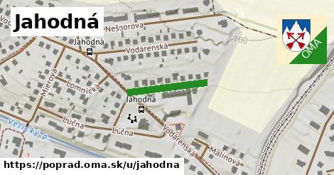 ilustrácia k Jahodná, Poprad - 178m