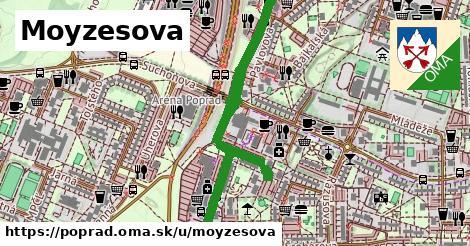 ilustrácia k Moyzesova, Poprad - 1,60km