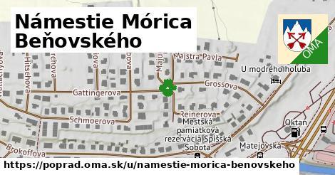 Námestie Mórica Beňovského, Poprad