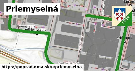 ilustrácia k Priemyselná, Poprad - 1,63km