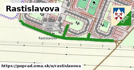 ilustrácia k Rastislavova, Poprad - 513m