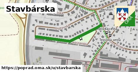 ilustrácia k Stavbárska, Poprad - 377m