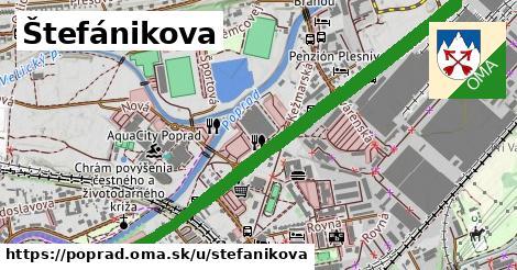 ilustrácia k Štefánikova, Poprad - 3,9km