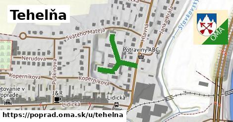 Tehelňa, Poprad