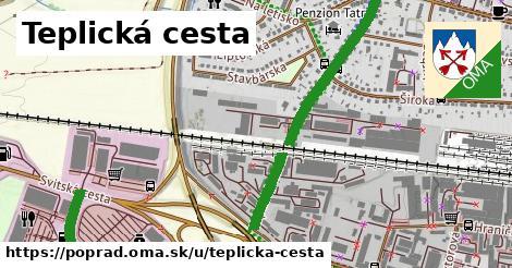 ilustrácia k Teplická cesta, Poprad - 1,55km