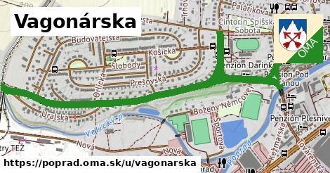 ilustrácia k Vagonárska, Poprad - 2,2km