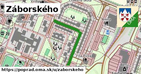 ilustrácia k Záborského, Poprad - 342m