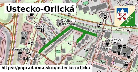 ilustračný obrázok k Ústecko-Orlická, Poprad