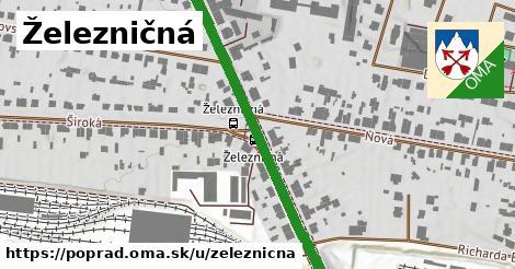 ilustrácia k Železničná, Poprad - 427m
