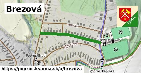 ilustrácia k Brezová, Poproč, okres KS - 324m