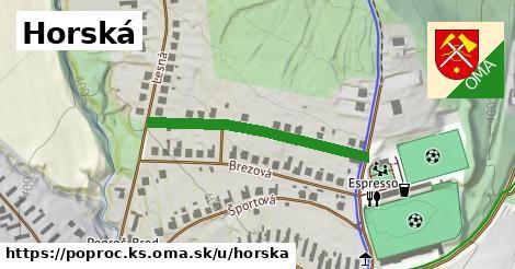 ilustrácia k Horská, Poproč, okres KS - 324m