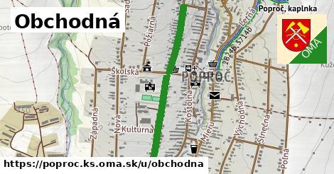 ilustrácia k Obchodná, Poproč, okres KS - 0,76km