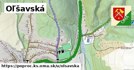 ilustrácia k Oľšavská, Poproč, okres KS - 1,46km