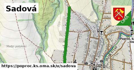 ilustrácia k Sadová, Poproč, okres KS - 636m
