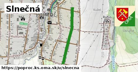 ilustrácia k Slnečná, Poproč, okres KS - 621m