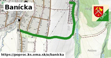 ilustrácia k Banícka, Poproč, okres KS - 1,24km
