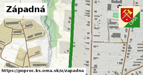 ilustrácia k Západná, Poproč, okres KS - 484m