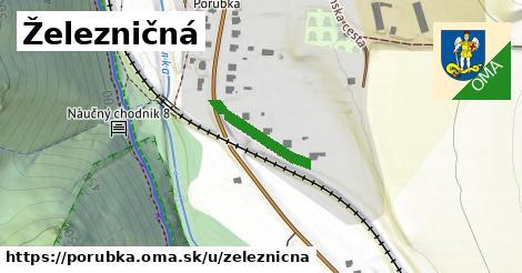 ilustrácia k Železničná, Porúbka - 164m