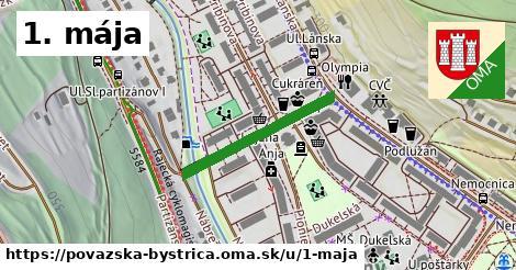 ilustračný obrázok k 1. mája, Považská Bystrica