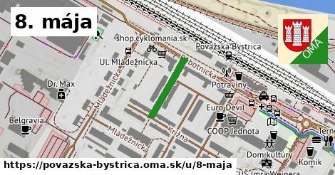 ilustrácia k 8. mája, Považská Bystrica - 150m