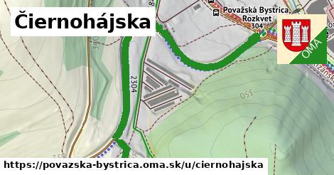 ilustrácia k Čiernohájska, Považská Bystrica - 1,31km