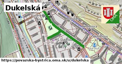 ilustrácia k Dukelská, Považská Bystrica - 426m