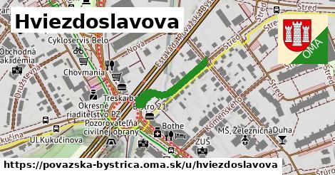 ilustrácia k Hviezdoslavova, Považská Bystrica - 394m