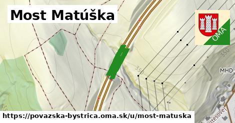 ilustračný obrázok k Most Matúška, Považská Bystrica