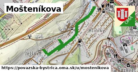ilustračný obrázok k Mošteníkova, Považská Bystrica