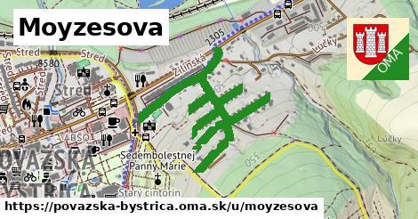 ilustrácia k Moyzesova, Považská Bystrica - 585m