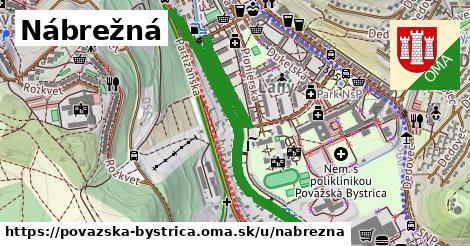 ilustrácia k Nábrežná, Považská Bystrica - 1,22km