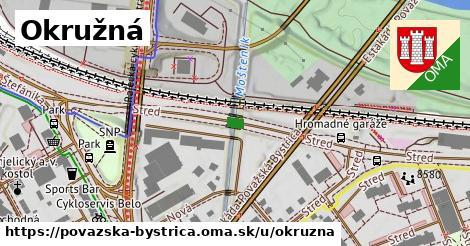 ilustrácia k Okružná, Považská Bystrica - 1,16km