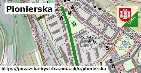 ilustrácia k Pionierska, Považská Bystrica - 332m