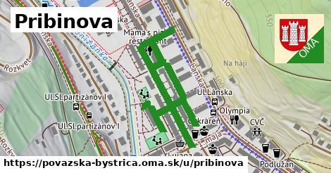ilustrácia k Pribinova, Považská Bystrica - 338m