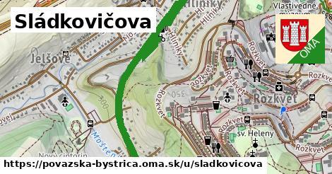 ilustrácia k Sládkovičova, Považská Bystrica - 1,93km