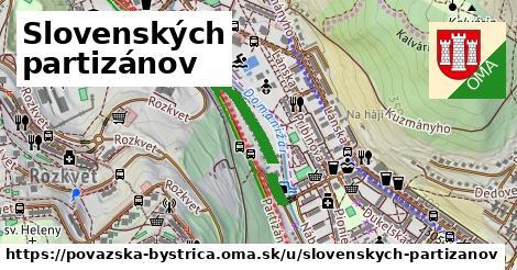 ilustrácia k Slovenských partizánov, Považská Bystrica - 4,6km