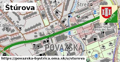 ilustračný obrázok k Štúrova, Považská Bystrica