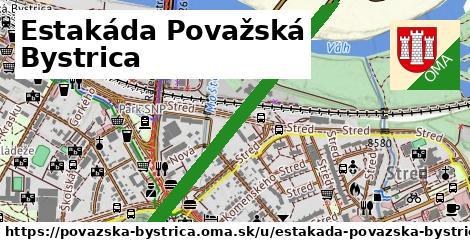 ilustrácia k Estakáda Považská Bystrica, Považská Bystrica - 2,1km